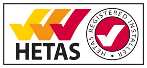 HETAS registered Installer - Blazing Burners are registered with HETAS as a business and as an installer.