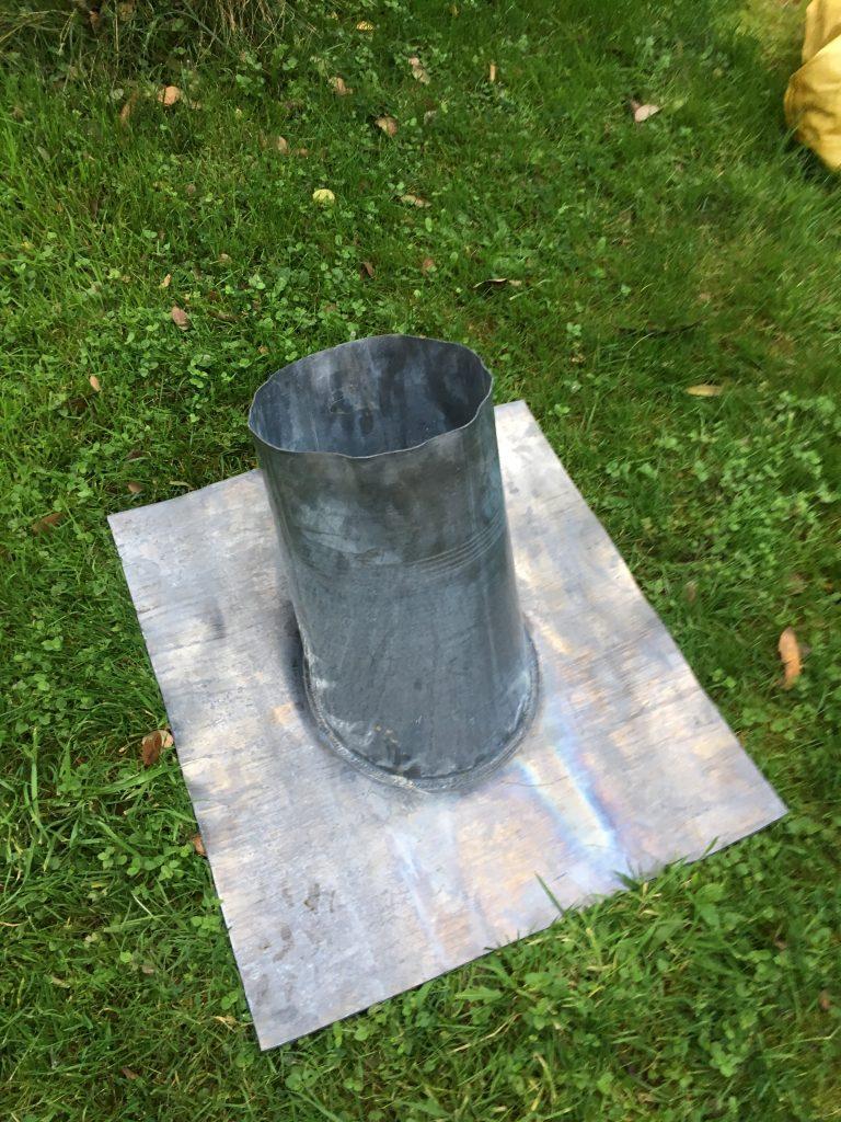 Woodburner Installation Lead Flashing Blazing Burners